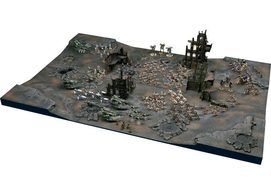 Building Citadel Game Board